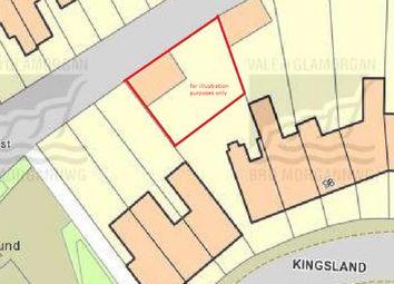 Thumbnail Land for sale in Kingsland Crescent, Barry