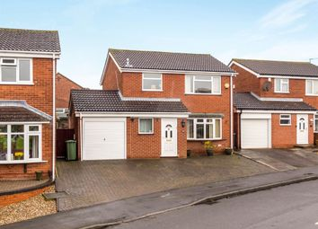 Thumbnail 3 bed detached house for sale in Cranmere Road, Melton Mowbray