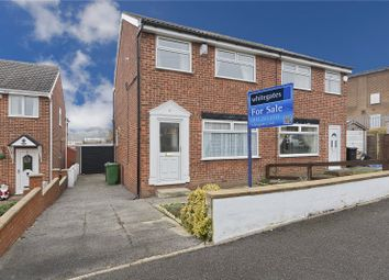 Thumbnail 3 bed semi-detached house for sale in Ganners Close, Leeds, West Yorkshire