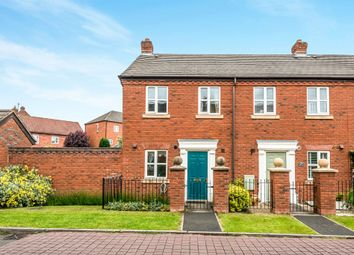 Thumbnail 2 bed end terrace house for sale in Chatterton Avenue, Lichfield