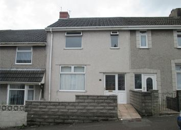 Thumbnail 3 bedroom terraced house to rent in Tymawr Street, Port Tennant, Swansea, City & County Of Swansea.