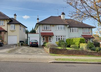 Thumbnail 3 bed semi-detached house for sale in Wades Hill, Winchmore Hill