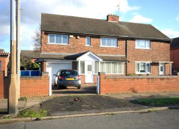 Thumbnail 4 bed semi-detached house for sale in Athelstane Crescent, Edenthorpe, Doncaster