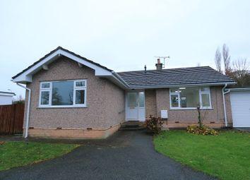 Thumbnail 2 bed detached bungalow to rent in Elwy Parc, Trefnant, Denbigh
