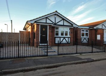 Thumbnail 1 bed detached bungalow for sale in Linde Road, Canvey Island