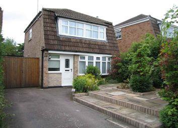 Thumbnail 3 bed detached house to rent in Kirkland Close, Castle Donington, Derby
