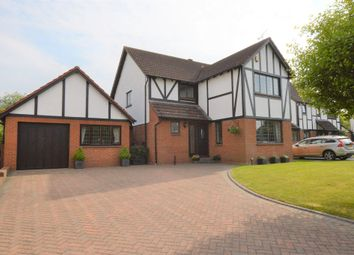 Thumbnail 4 bed detached house for sale in Tudor Way, Great Boughton, Chester