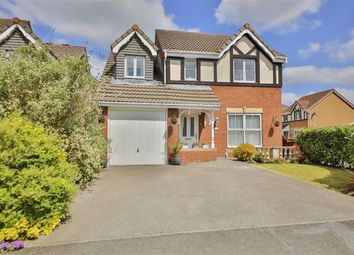 Thumbnail 4 bed detached house for sale in Mile Stone Meadow, Euxton, Lancashire