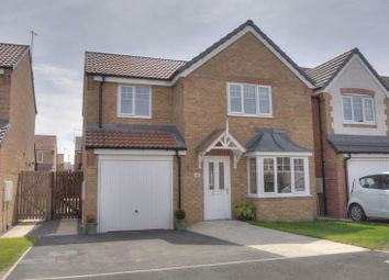 Thumbnail 4 bed detached house for sale in Belford Meadows, Ashington