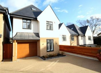 Thumbnail 4 bedroom detached house for sale in Sandecotes Road, Parkstone, Poole