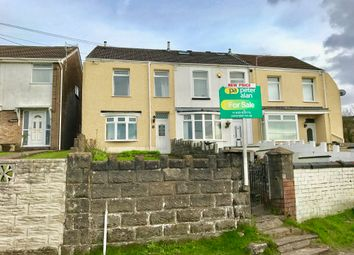 Thumbnail 3 bedroom end terrace house for sale in Danygraig Road, Neath
