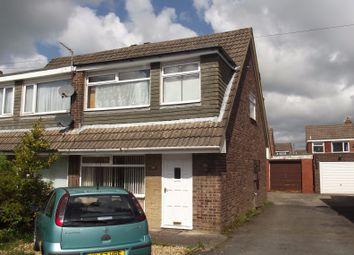 Thumbnail 3 bed semi-detached house to rent in Haversham Avenue, Fulwood, Preston, Lancashire