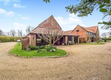 Thumbnail 5 bed barn conversion for sale in Wayford Road, Stalham, Norfolk