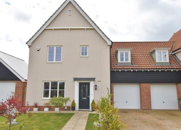 Thumbnail 3 bed link-detached house for sale in Peggs Place, Stalham, Norfolk