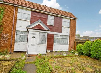 Thumbnail 3 bed end terrace house for sale in Pitsford Close, Hull