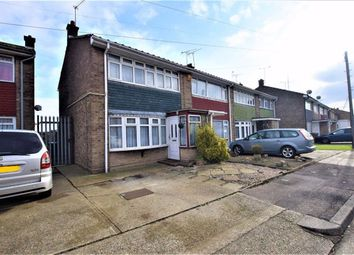 Thumbnail 3 bedroom end terrace house for sale in Byron Gardens, Tilbury, Essex