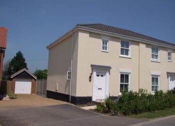 Thumbnail 3 bedroom semi-detached house for sale in Warren Avenue, Saxmundham