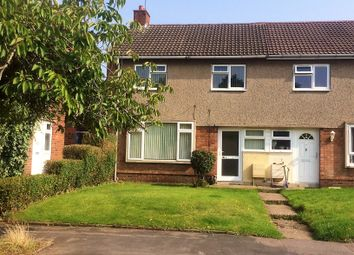 Thumbnail 3 bed end terrace house to rent in Chesford Crescent, Warwick