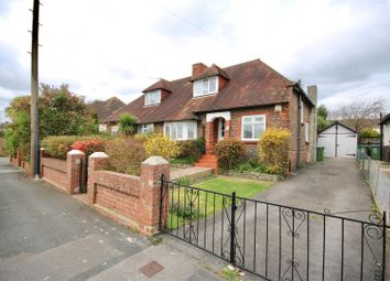 Thumbnail 2 bedroom semi-detached bungalow for sale in Leith Avenue, Portchester, Fareham