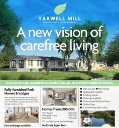 Thumbnail 2 bed mobile/park home for sale in Mill Road, Yarwell, Northamptonshire