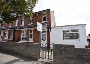 Thumbnail 4 bed end terrace house for sale in Woodlands Road, Barry