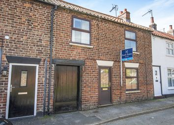 Thumbnail 3 bed terraced house for sale in Church Lane, Beeford, Driffield