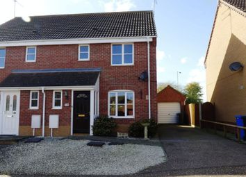 Thumbnail 3 bedroom semi-detached house for sale in Regan Close, Parkhill, Lowestoft