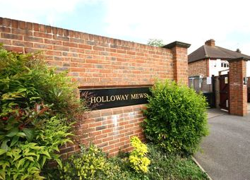 Thumbnail 3 bed flat to rent in Holloway Mews, 42A Armstrong Road, Egham, Surrey