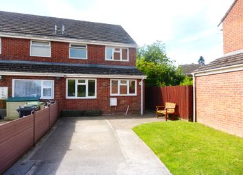 Thumbnail 3 bed end terrace house for sale in St Peters Close, Moreton-On-Lugg, Hereford