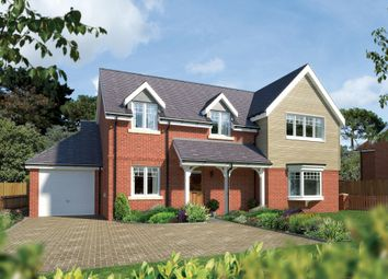 Thumbnail 4 bed detached house for sale in Plot 3, Ramley Road, Pennington, Lymington, Hampshire