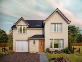 Thumbnail 3 bedroom detached house for sale in The Lennox, Ostlers Way, Kirkcaldy, Fife