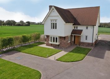 Thumbnail 3 bed detached house for sale in Bury Road, Lawshall, Bury St. Edmunds