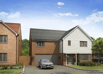 "Thumbnail 4 bed detached house for sale in ""The Compton"" at Fields Road, Wootton, Bedford"