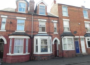 Thumbnail 4 bedroom terraced house to rent in Cedar Road, Nottingham