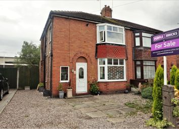 Thumbnail 3 bed semi-detached house for sale in Davenport Avenue, Crewe