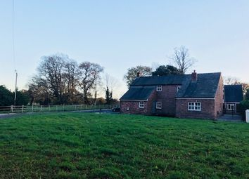 Thumbnail 4 bed farmhouse for sale in Capenhurst Lane, Chester