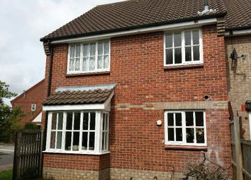 Thumbnail 1 bed end terrace house to rent in Radcliffe Road, Drayton, Drayton, Norfolk