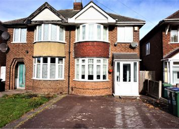 Thumbnail 3 bed semi-detached house for sale in Church Lane, West Bromwich