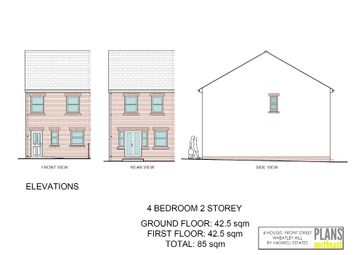 Thumbnail 4 bed terraced house for sale in Front Street, Wheatley Hill, Durham
