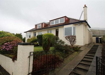 Thumbnail 3 bed semi-detached bungalow for sale in Newton Street, Greenock, Renfrewshire