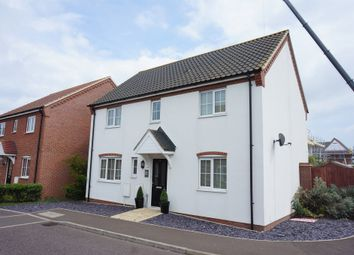 Thumbnail 4 bed detached house for sale in Blackbird Way, Harleston