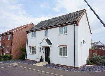 Thumbnail 4 bedroom detached house for sale in Blackbird Way, Harleston