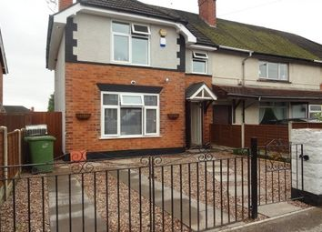 Thumbnail 3 bed terraced house to rent in Oakland Road, Walsall