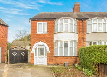 Thumbnail 3 bedroom semi-detached house for sale in Exmoor Avenue, Leicester