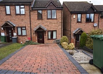 Thumbnail 2 bed end terrace house to rent in Staite Drive, Kidderminster