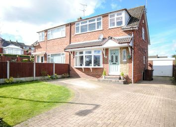 Thumbnail 3 bed semi-detached house for sale in Golborn Avenue, Meir Heath, Stoke-On-Trent