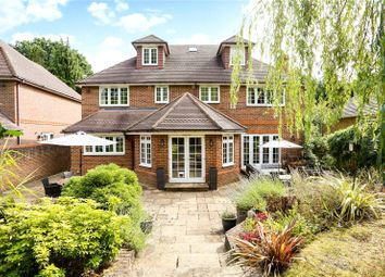 Thumbnail 6 bed detached house for sale in Brackendale Road, Camberley, Surrey