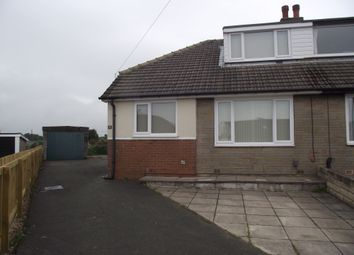 Thumbnail 3 bedroom semi-detached bungalow to rent in Deer Croft Drive, Huddersfield