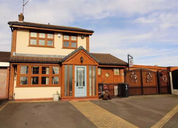 Thumbnail 4 bed link-detached house for sale in Balmoral View, Milking Bank, Dudley