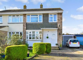 Thumbnail 3 bed semi-detached house for sale in Rogerson Close, Cowes, Isle Of Wight